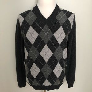 Brooks Brothers Scottish Lambswool argyle sweater